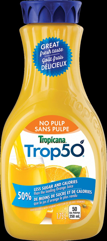 Trop50® Orange No Pulp