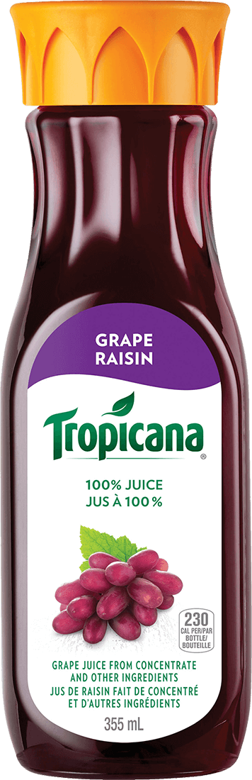 Tropicana® 100% Grape Juice from Concentrate