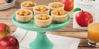 Gâteaux au fromage aux pommes épicées