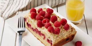 Orange Raspberry Coffee Cake