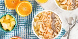 Tropical Citrus Smoothie Bowl