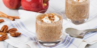 Apple-Cinnamon Chia Pudding