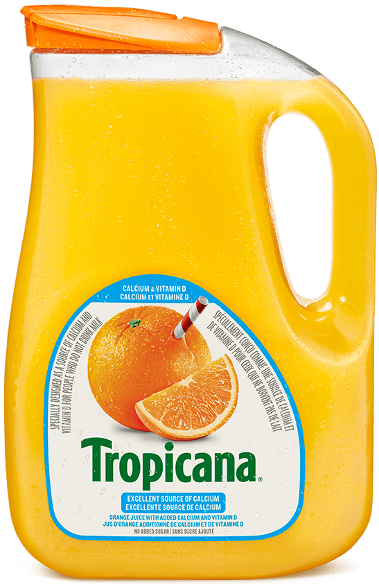 Tropicana® 100 % Pure Orange Juice - with added Calcium & Vitamin D