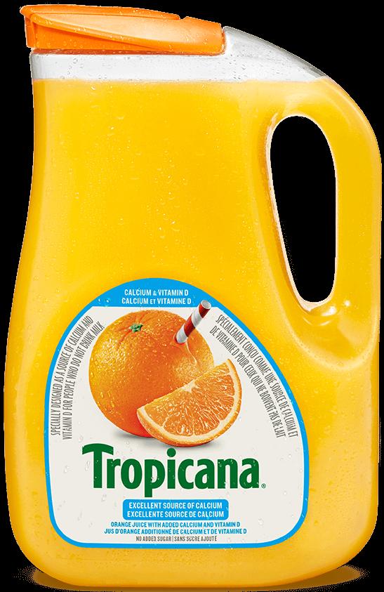 Jus D'orange Tropicana® Pur À 100 % - Calcium Et Vitamine D