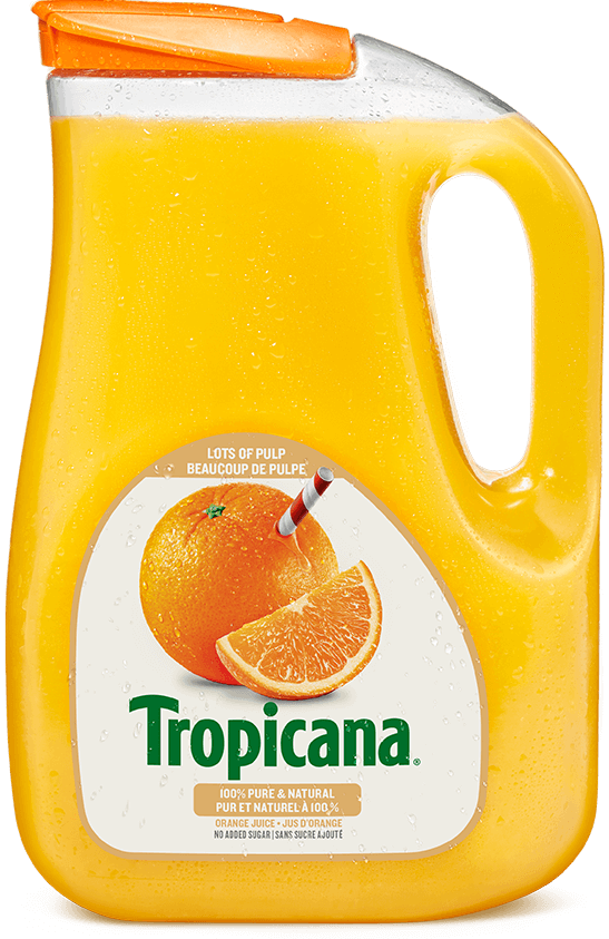 Tropicana® 100 % Pure Orange Juice - Lots of Pulp