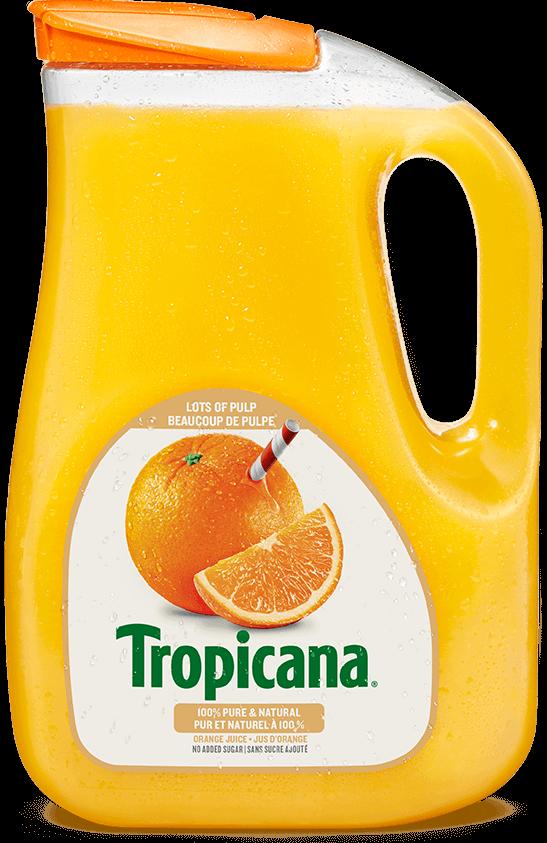 Jus D'orange Tropicana® Pur À 100 % - Beaucoup De Pulpe