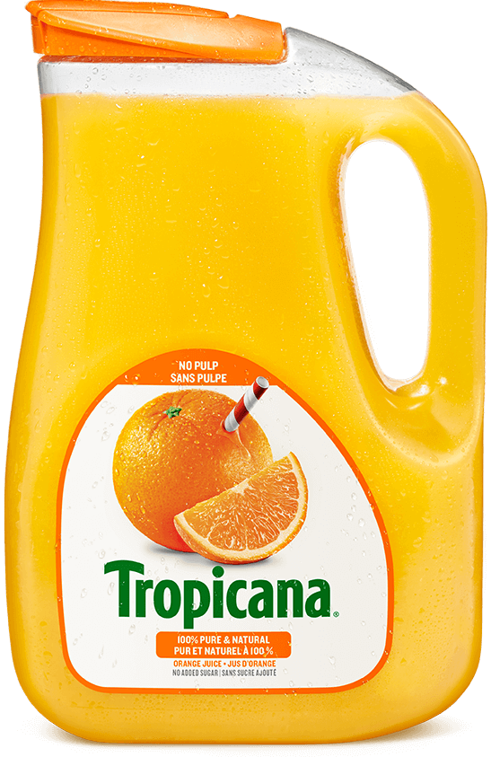 Tropicana® 100 % Pure Orange Juice - No Pulp