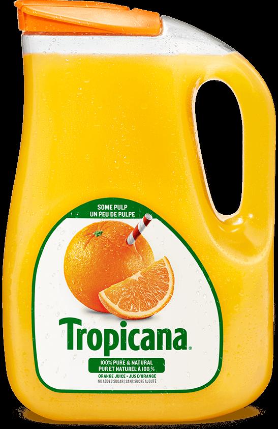 Jus D'orange Tropicana® Pur À 100 % - Un Peu De Pulpe