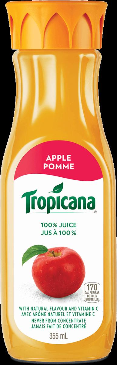 Jus Tropicana® À 100 %  Jus De Pomme Fraîchement Pressé
