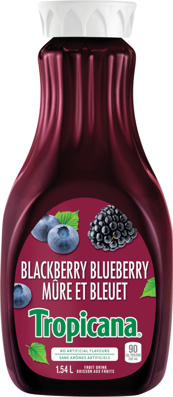 *NEW* TROPICANA® BLACKBERRY BLUEBERRY FRUIT BEVERAGE