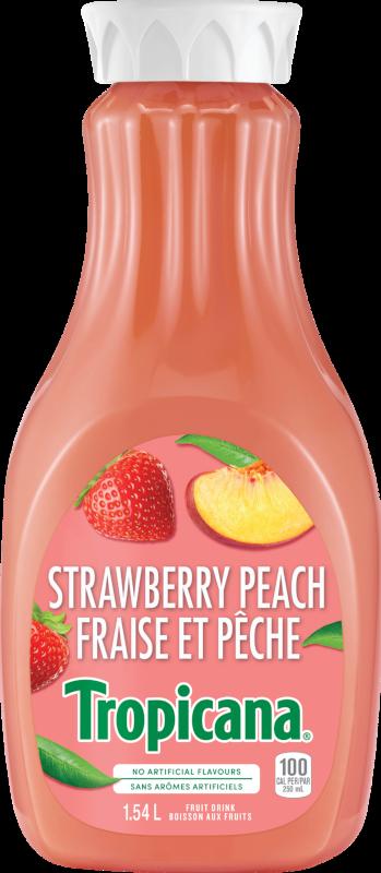 Tropicana® Strawberry Peach Fruit Beverage
