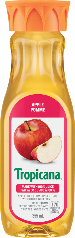 Tropicana® 100% Apple Juice from Concentrate