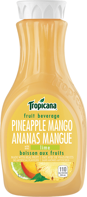 Tropicana® Pineapple Mango With a Hint of Lime Fruit Beverage