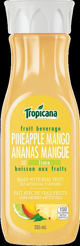 Boisson Au Fruits Tropicana® Ananas Et Mangue Avec Lime