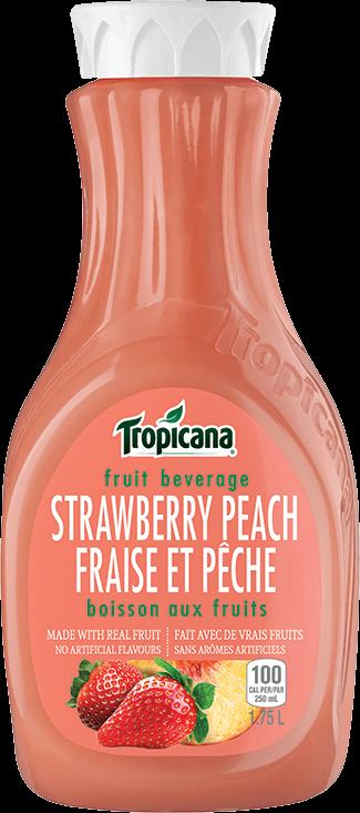 Boisson Aux Fruits Tropicana® Fraise Et Pêche