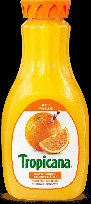Jus D'orange Tropicana® Pur À 100 % - Sans Pulpe