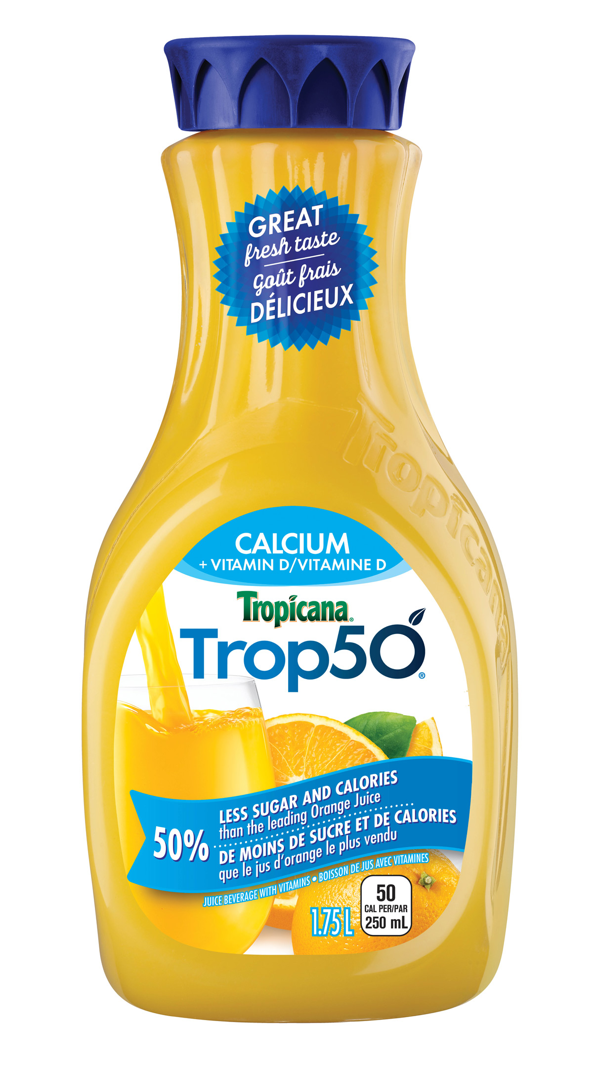 Trop50® Orange Calcium and Vitamin D