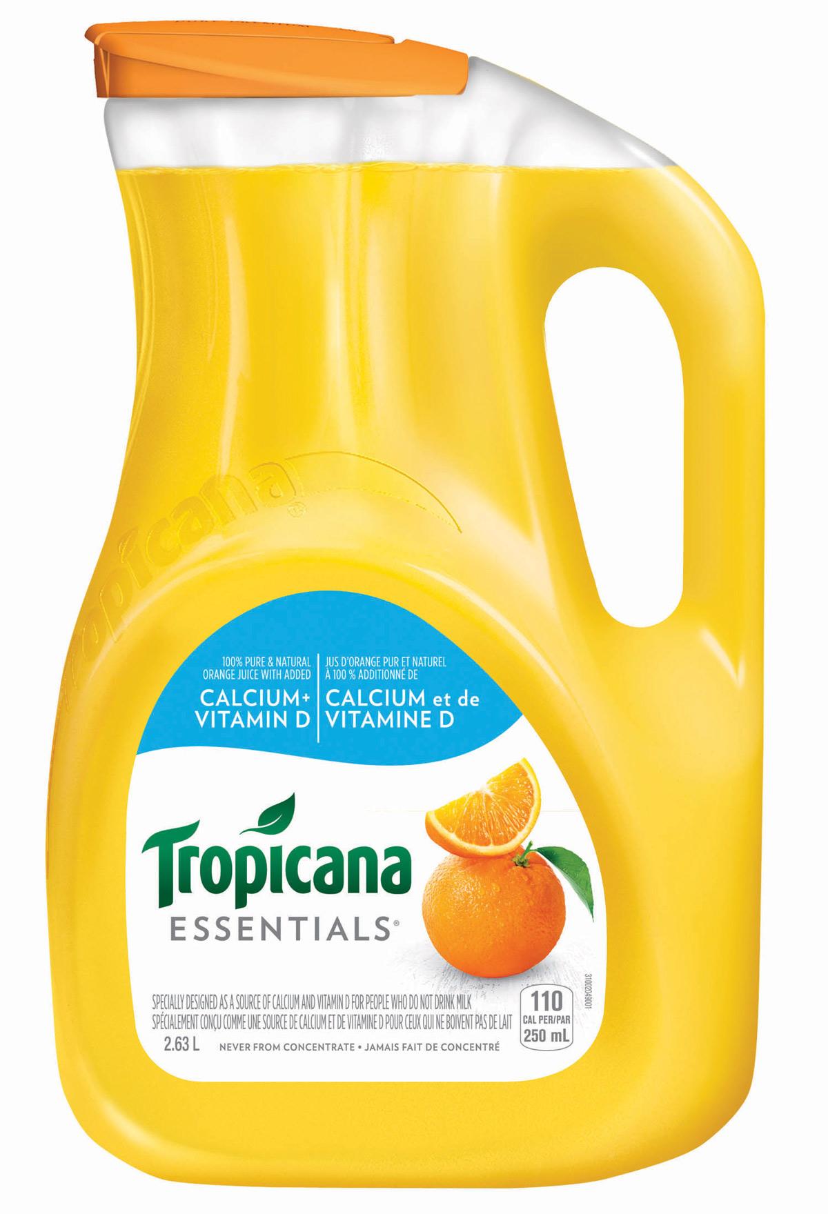 Tropicana Essentials® Calcium & Vitamin D