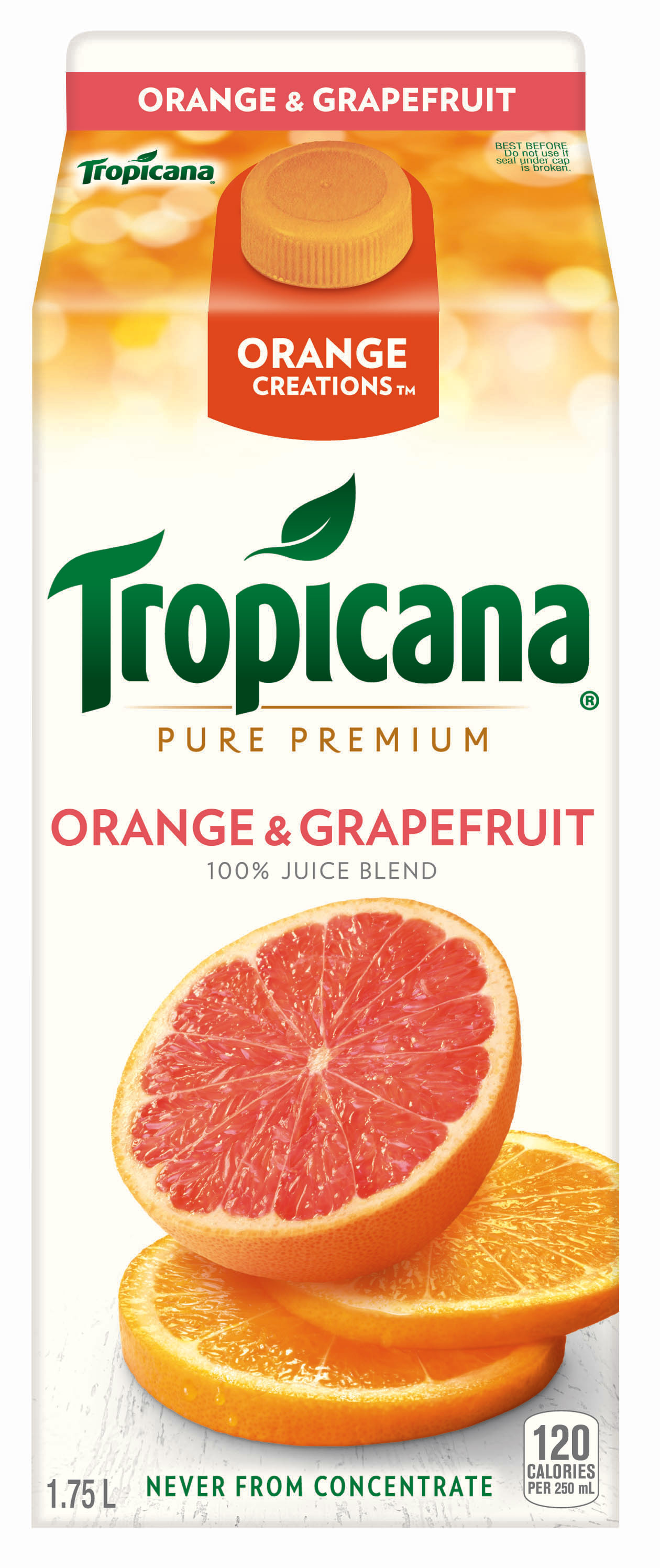 Tropicana® Orange Creations™ – Orange & Grapefruit