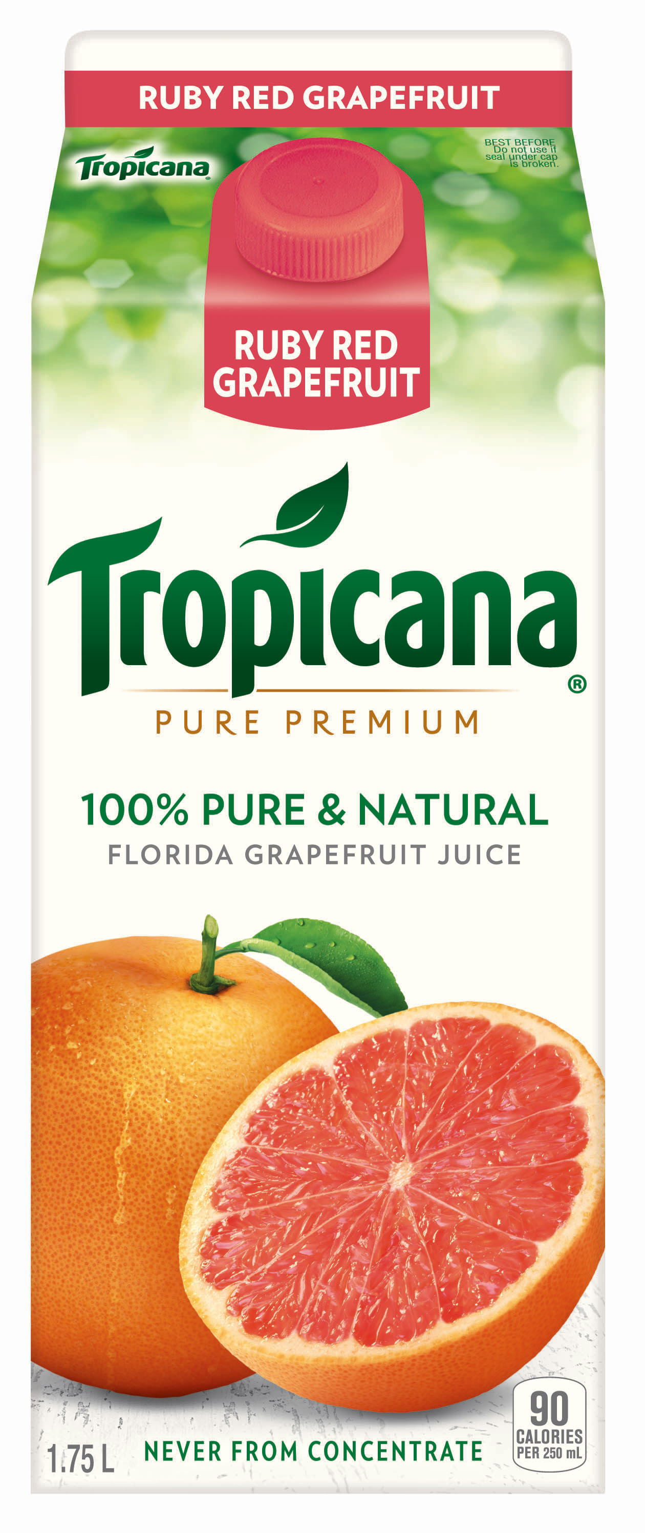Tropicana Pure Premium® 100% Red Grapefruit Juice