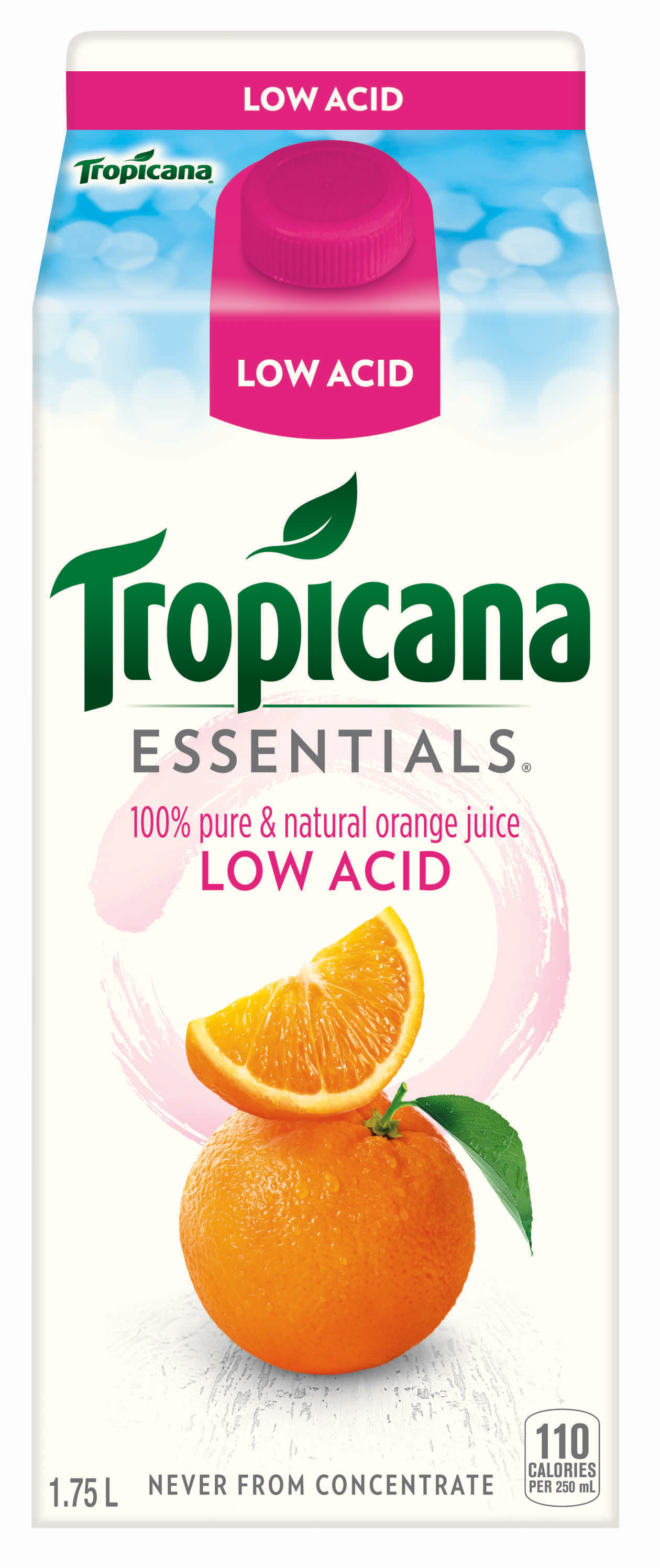 Tropicana Essentials® Low Acid Orange Juice