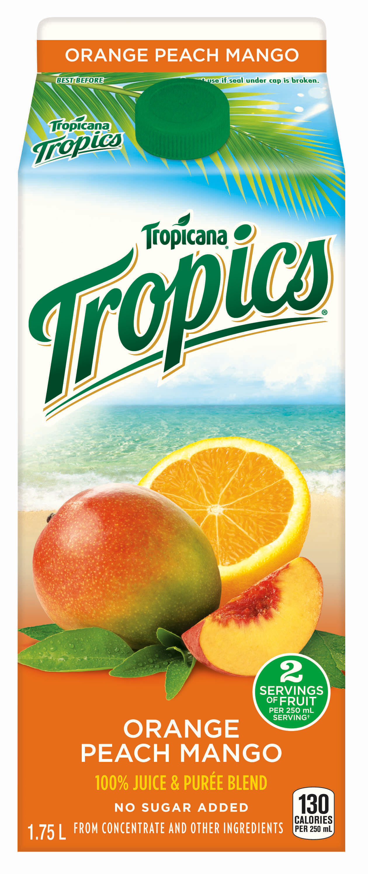 Tropicana® Tropics® - Orange Peach Mango