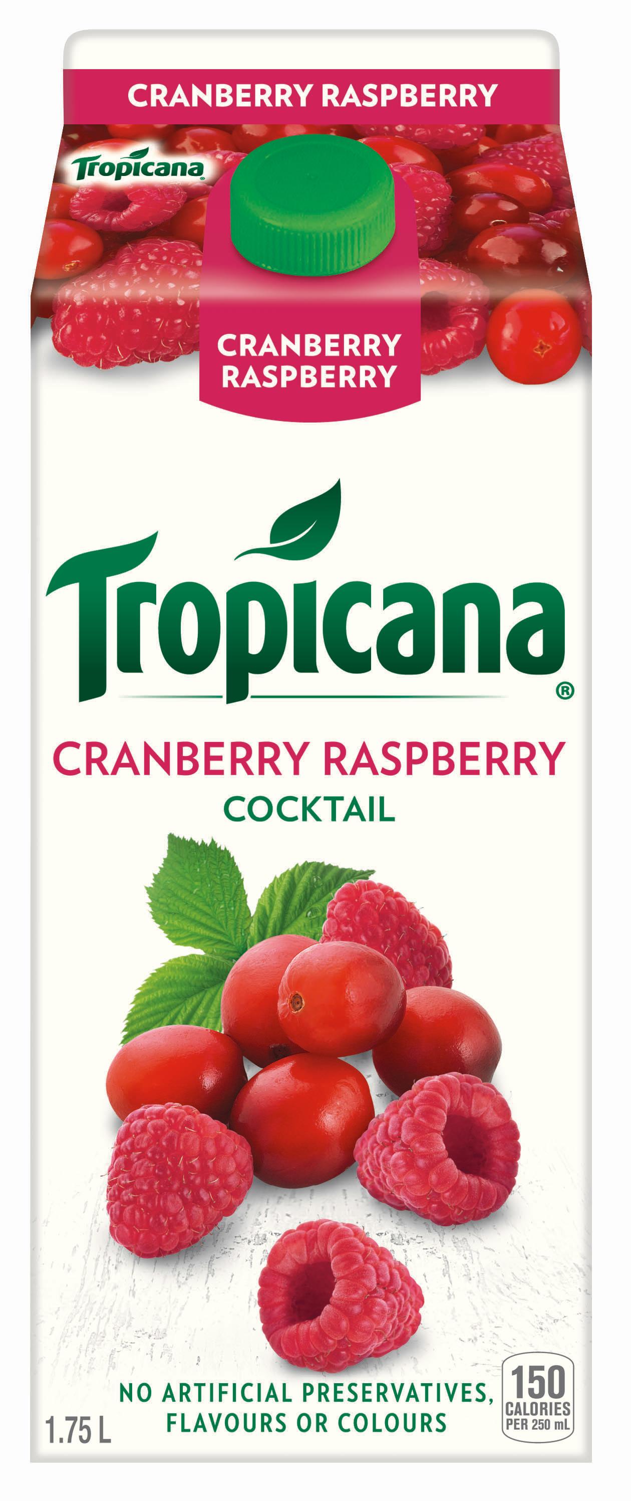 Tropicana® Cranberry Raspberry Cocktail