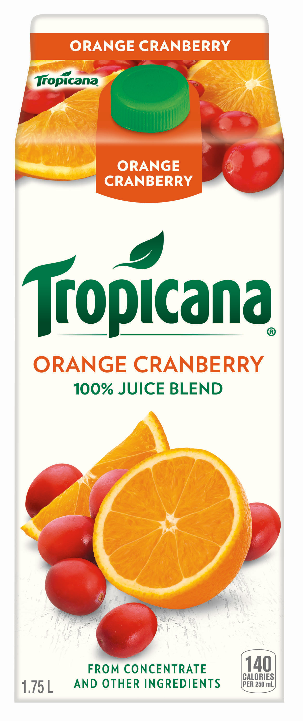 Tropicana® Orange Cranberry Juice Blend from Concentrate