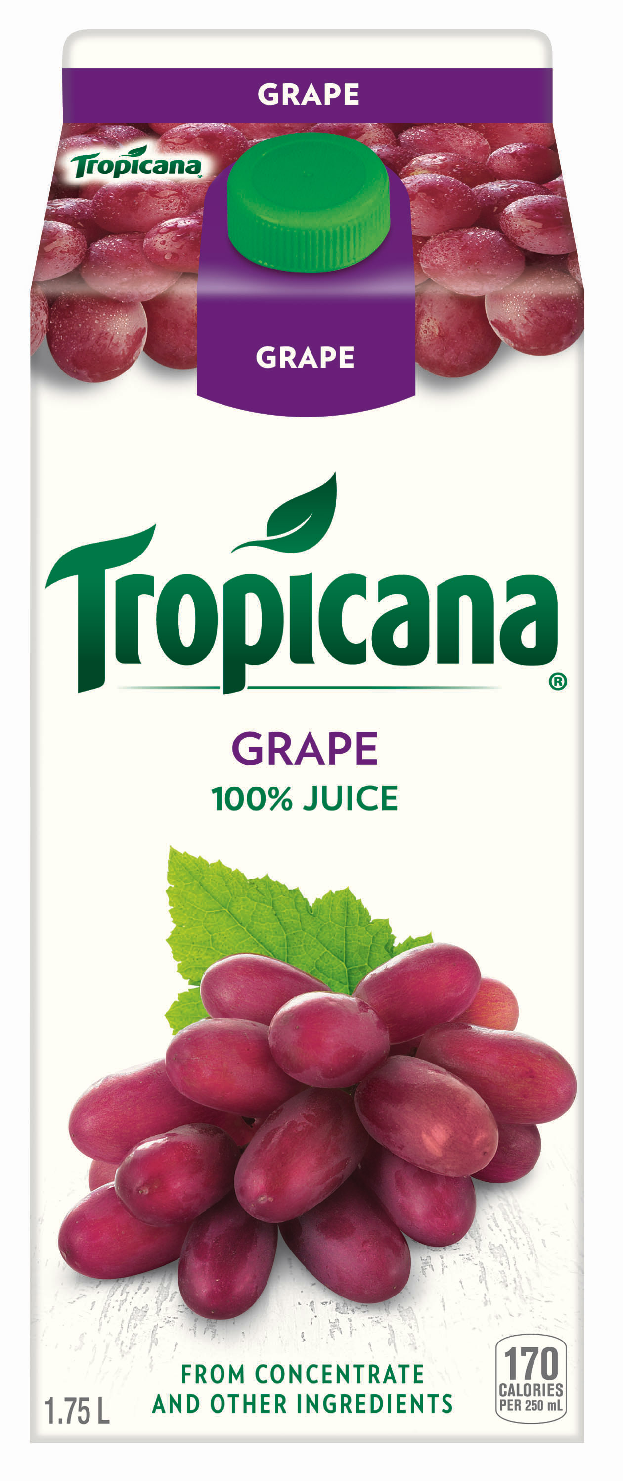 Tropicana® Grape 100% Juice from Concentrate
