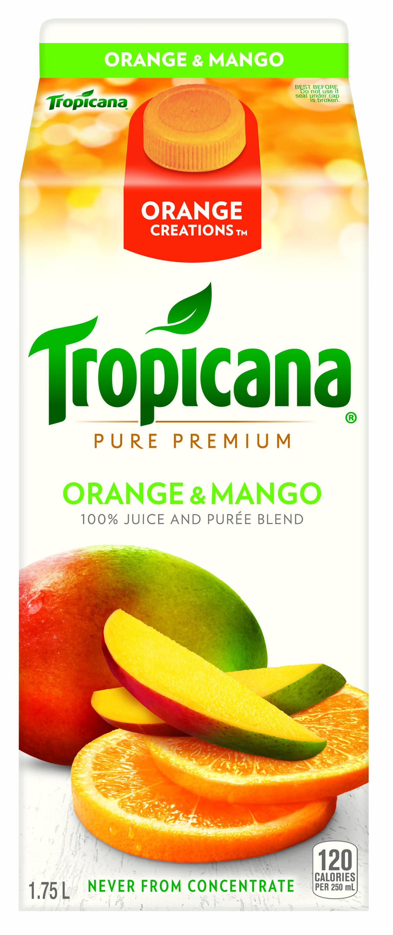 Tropicana® Orange Creations™ – Orange & Mango