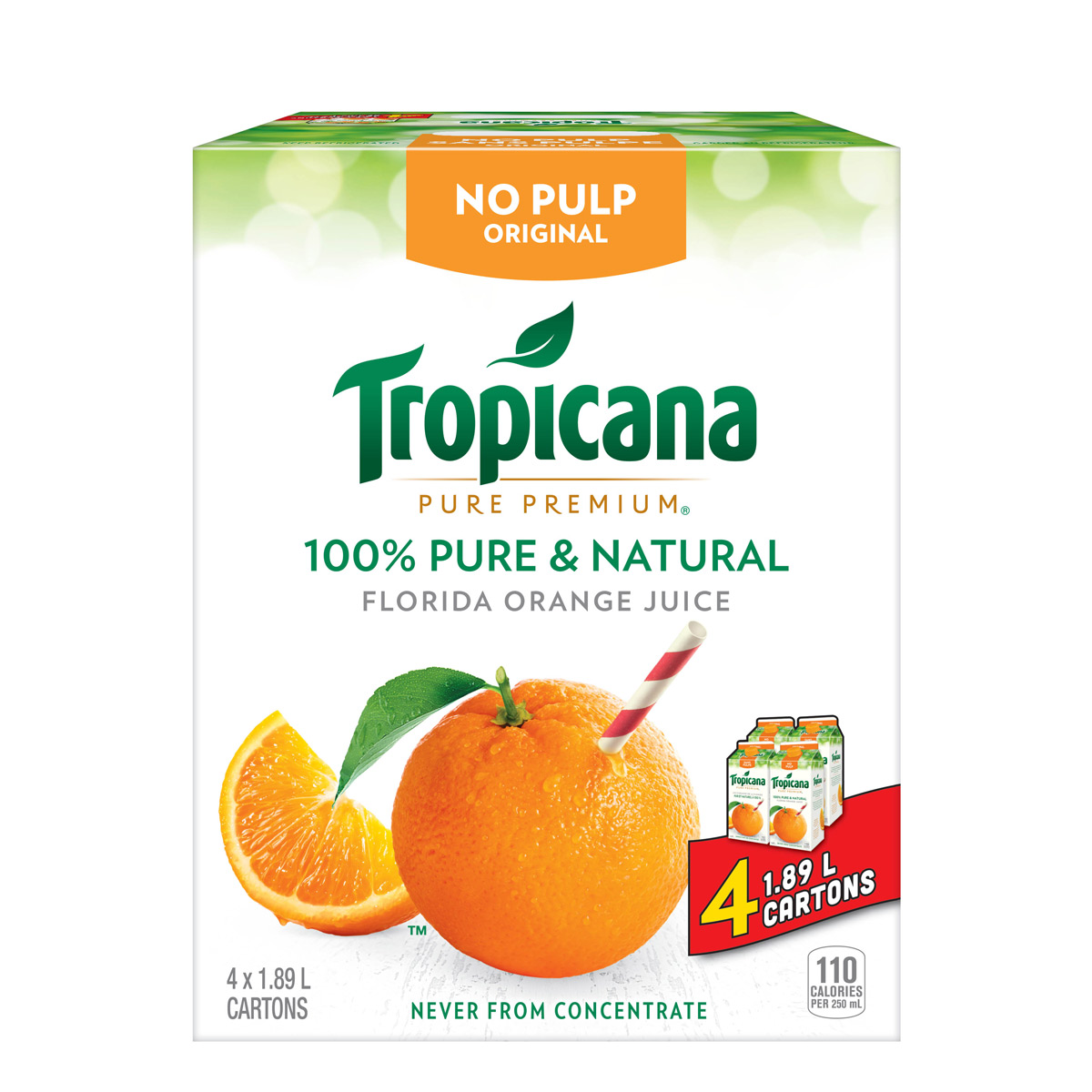 Tropicana Pure Premium® Original Club