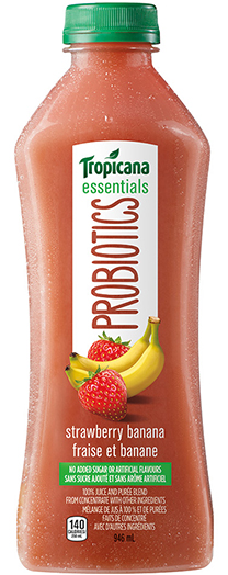 Tropicana Essentials Probiotics® Strawberry Banana