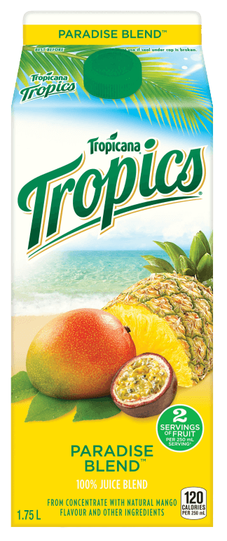 Tropicana® Tropics® - Paradise Blend™
